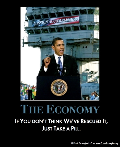 obama mission accomplished poster